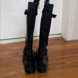 BCBGeneration Shoes - Bcbg black leather tall boots
